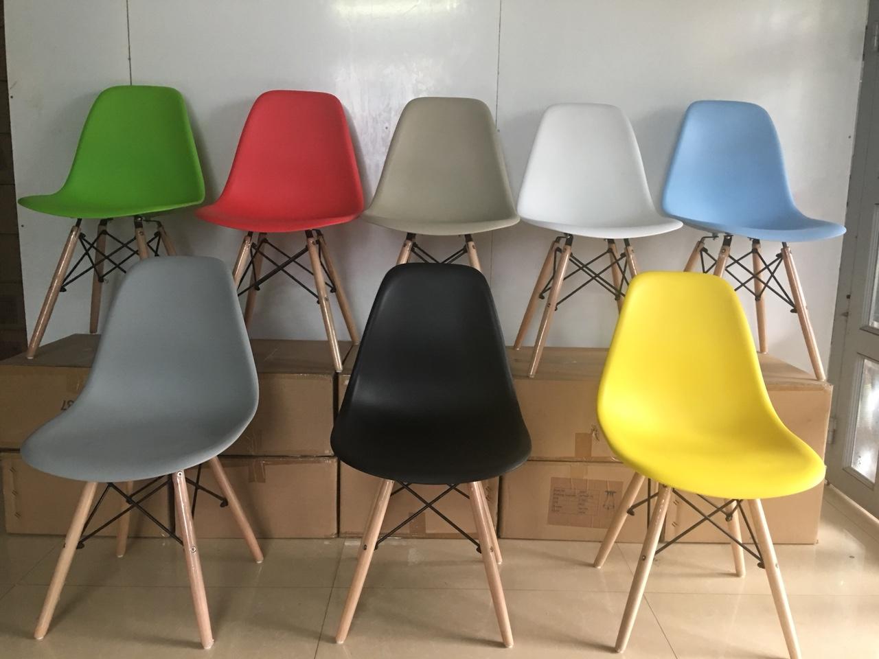Ghế nhựa Eames không tay A09a