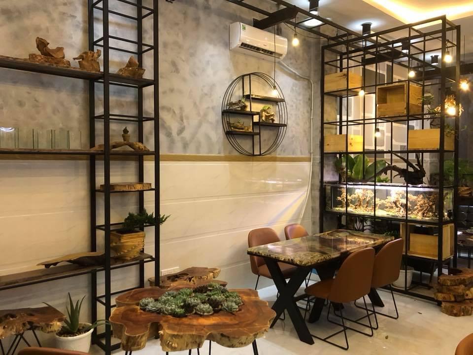 Cách bố trí sắp xếp bàn ghế quán cafe