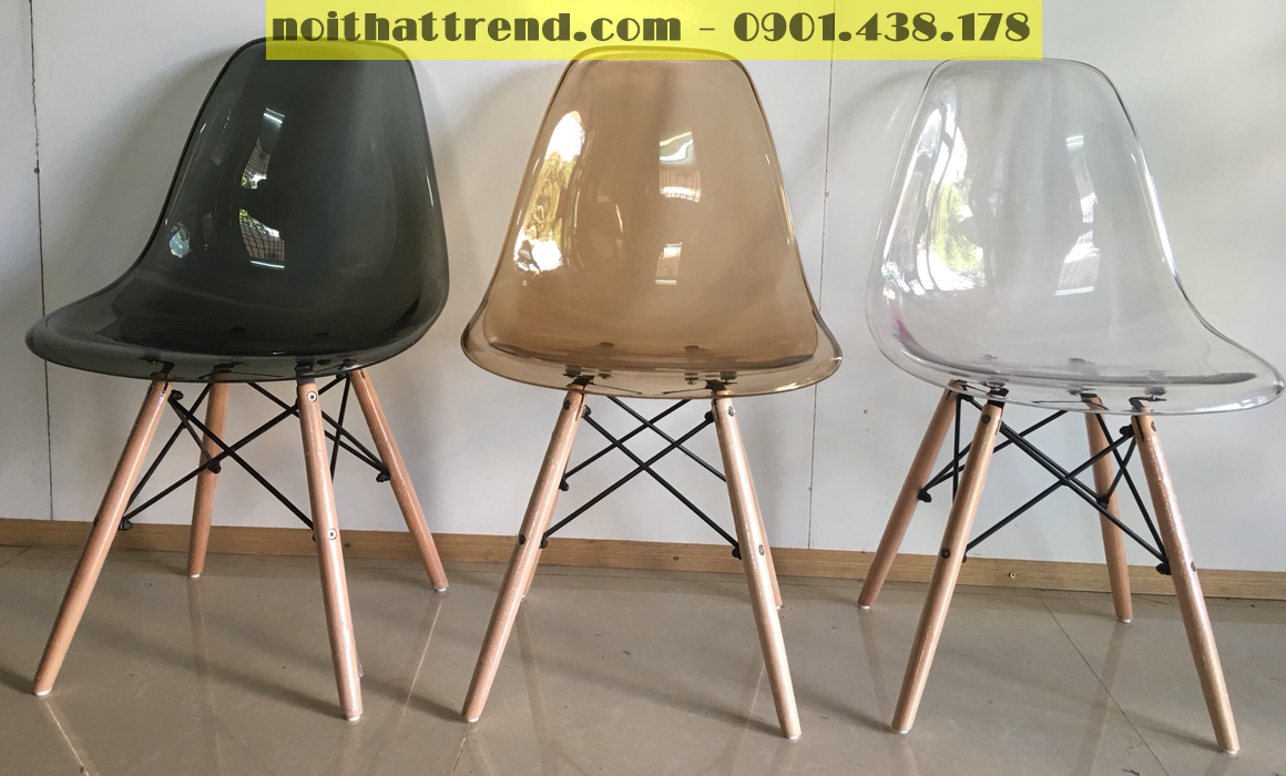 Ghế Eames trong suốt A04